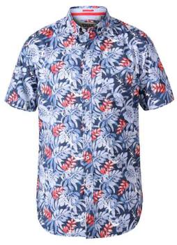 """Overhemd """"Malibu"""" van merk undefined in de kleur blue, gemaakt van organic cotton."""