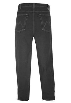 Maxfort Jeans van stretchstof, voorzien van 2 steekzakken aan de voorkant, 2 zakken aan de achterkant, riemlussen en een knoop en ritssluiting.De grote maten van Maxfort Jeans hebben een goede pasvorm en hoog draagcomfort en door gebruik van een fijne stretch jeans stof.Maxfort is een Italiaans merk dus dit valt ruim een maat kleiner, de maten zijn Europese confectie maten. Let goed op de cm's die achter de maat vermeld staan voor de taille omvang. (Altijd meten waar u de broek draagt, meestal net onder de buik)