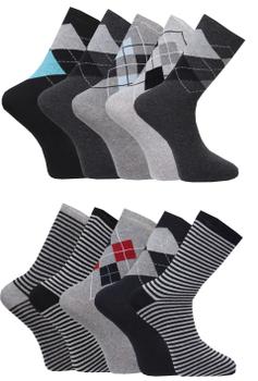 voordeelpak 10 paar Capital socks -  - Melvinsi