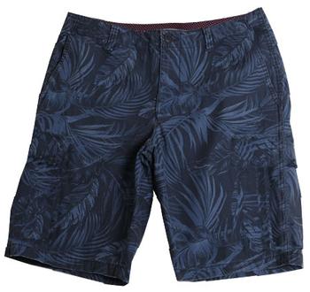 """Hawaii Short """"Panther"""" van merk D555 in de kleur navy, gemaakt van organic cotton / elastaan. Chino model uitgevoerd in comfortabele stretch stof van organisch katoen met gave print."""