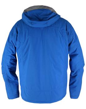 Deze winterjas is uiterst geschikt om als ski-jack te gebruiken. Hij heeft opvallende contrastdetails. De jas is uitgerust met vele zakken met waterdichte ritsen. De afneembare capuchon heeft aantrekkoordjes. Het jack sluit met een rits, met daarover een drukknoopsluiting. De mouwen hebben verstelbare klittenbandboorden.  De stof voor deze jas is Aero-tech een speciaal ontworpen stof die volledig winddicht, extra waterdicht, ademend en alle weerbestendig is.