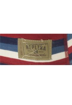 Kleurrijk gestreepte Replika boxershort met een verstevigde kruis, een embleem aan de zoom van de rechter pijp en een brede elastische tailleband met merklogo voor een optimale pasvorm.