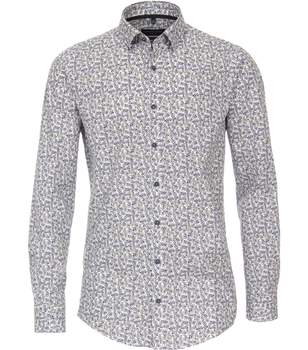 overhemd met fietsprint