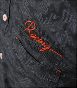 overhemd van merk CASA MODA in de kleur antraciet, gemaakt van 100% katoen. Dit casual overhemd heeft een nonchalante snit en onderscheidt zich doordat het gemaakt is van puur katoen. De all-over print zet modieuze accenten en versterkt elke casual look stijlvol. Een echte must-have voor de modebewuste man. Combineer het comfortabel met jeans of chino's en begin de dag in stijl.