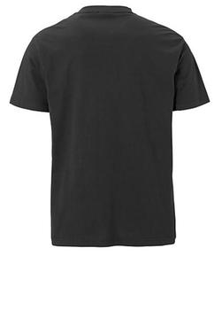 Jeugdig t-shirt met trendy opvallende print aan de voorkant. Door de mooie kleurencombinatie is dit shirt een echte blikvanger.