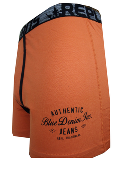 Effen Replika boxershort met een contrasterende stof langs het kruis en een brede elastische tailleband met merklogo voor een optimale pasvorm.