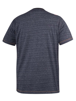 "T-Shirt ""Colorado"" van merk D555 in de kleur navy fine stripe, gemaakt van cotton-poly."