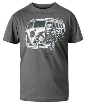 """T-shirt """"Fadden"""" van merk undefined in de kleur khaki marl, gemaakt van organic cotton."""