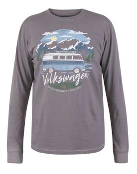"""T-shirt """"Misterton"""" Official VW Mountain Explorer Printed van merk D555 in de kleur grijs, gemaakt van 100% cotton."""