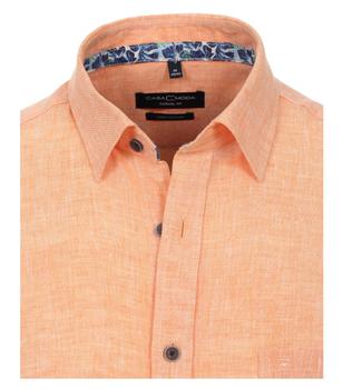 Overhemd van merk CASA MODA in de kleur oranje, gemaakt van 100% linnen. Dit modieuze vrijetijdsshirt is gemaakt van puur linnen en is de ideale metgezel in het dagelijks leven. De modieus gedessineerde bies verbetert het shirt in stijl en maakt het de perfecte metgezel voor de moderne man. Combineer het comfortabel met een spijkerbroek of chino en begin met dag in stijl.