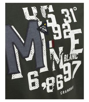 T-shirt van merk CASA MODA in de kleur groen, gemaakt van 100% katoen. Dit T-shirt is gemaakt van puur katoen en is zeer comfortabel om te dragen. Het sportieve design met trendy logo print is een perfecte aanvulling op elke sportieve look. Of het nu met jeans, chino's of shorts is, dit T-shirt is op vele manieren te combineren en is een absolute must have voor elke garderobe.