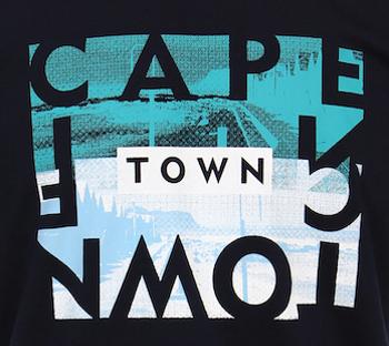 Casa Moda t-shirt met Cape Town print