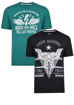 Kam duo-pack t-shirts -  - Melvinsi