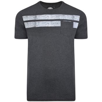 KAM T-shirt - Stripe Charcoal -  - Melvinsi