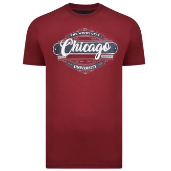 KAM T-shirt - Chicago Burgundy -  - Melvinsi
