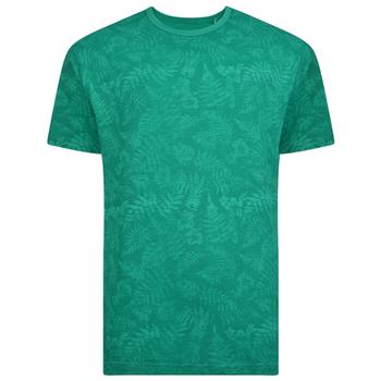 KAM T-shirt - Leaf Print Shamrock -  - Melvinsi