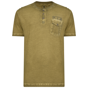 KAM T-shirt - Button Up Olive -  - Melvinsi