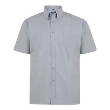 KAM Overhemd SS Oxford Grey -  - Melvinsi