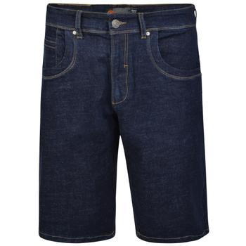 Short van KAM in de kleur indigo spijkerstof.