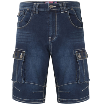 "Denim Cargo Shorts ""Ivan"" -  - Melvinsi"