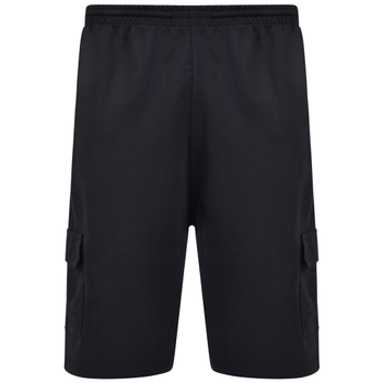 KAM Short Jersey Cargo Black