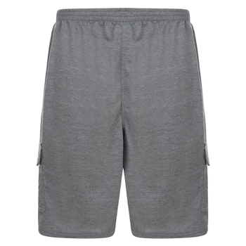 Short van KAM in de kleur charcoal.