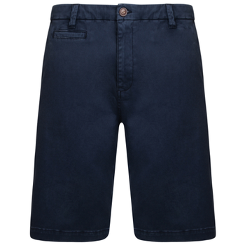 KAM Short Chino Stretch Navy -  - Melvinsi