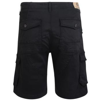 Short van KAM met rits in de kleur zwart. Grote diepe zakken.