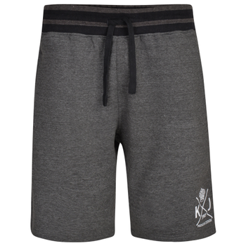 Jogging short van KAM in de kleur charcoal.