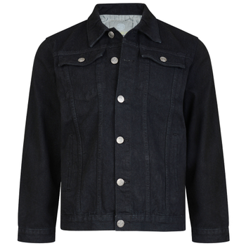 Western Denim Jacket Black -  - Melvinsi