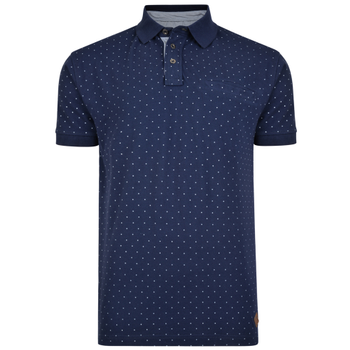 Polo Dobby Dot Navy