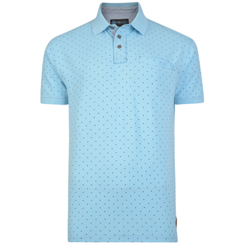 Polo Dobby Dot Powderblue -  - Melvinsi