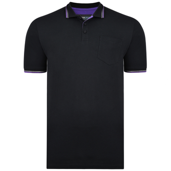Polo Tip Collar Black -  - Melvinsi
