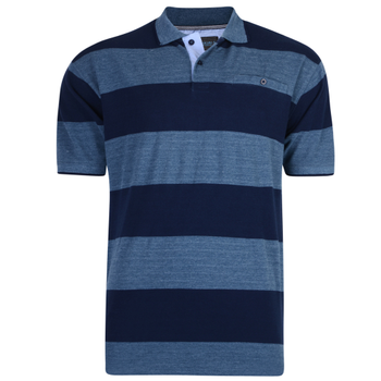 KAM Rugby Stripe Polo -  - Melvinsi