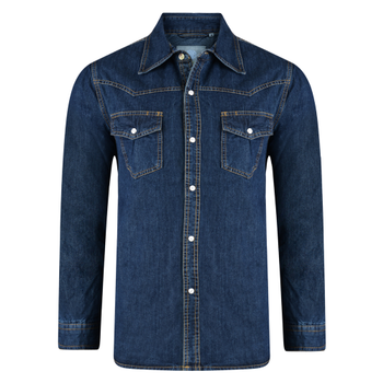 KAM Western Denim Shirt