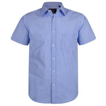 Slub Cotton casual overhemd -  - Melvinsi
