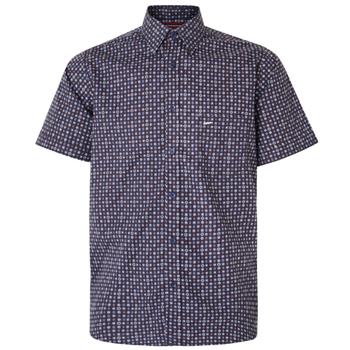 Dobby print overhemd -  - Melvinsi