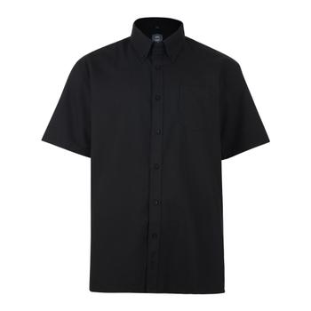 KAM Overhemd SS Oxford Black -  - Melvinsi