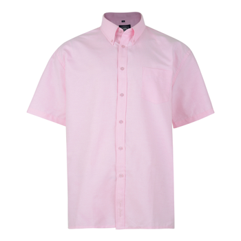 KAM Overhemd SS Oxford Pink -  - Melvinsi