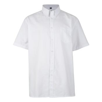 KAM Overhemd SS Oxford White -  - Melvinsi
