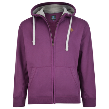 KAM Hoody Casual Soft Touch Purple -  - Melvinsi