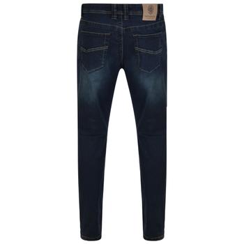 Stretch spijkerbroek van KAM Jeanswear. Donkerblauw met een lichte wash.
