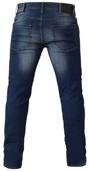 Blauwe stretch Jeans met knoop- en ritssluiting, 2 steekzakken met muntzakje, 2 open zakken met sierstiksels aan de achterkant en een logo op de achterkant van de tailleband. Gemaakt van extra zachte stretch katoen voor fantastisch draagcomfort.