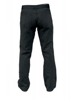 """Duke London Jeans met knoopsluiting-ritssluiting, 2 steekzakken aan de voorkant, 1 muntzakje met merklogo en 2 ruime achterzakken met decoratief stiksel. De broek wordt geleverd inclusief bijpassende riem.Leverbaar in beenlengte: 34"""""""