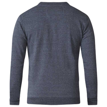 """vest """"Arnie"""" van merk D555 in de kleur charcoal, gemaakt van cotton-poly."""