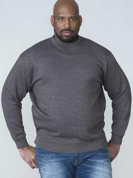 Modieuze Rockford sweater met ronde hals. Ribboord aan de mouwen en in de taille en leuk detail in de hals.