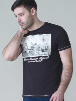 T-shirt met USA-New York print