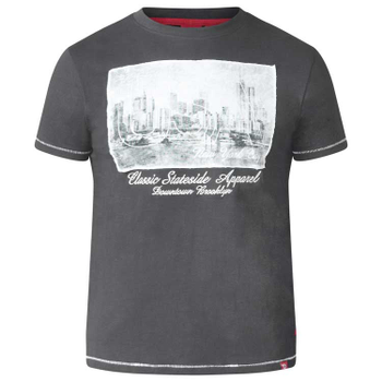 T-shirt met USA-New York print  -  - Melvinsi