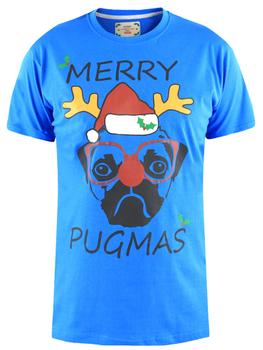 Kerst T-shirt PUG -  - Melvinsi