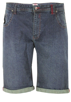 D555 Denim stretch short  -  - Melvinsi